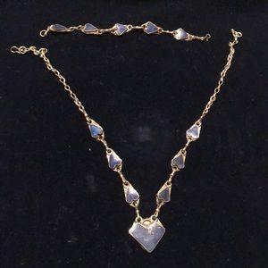 Gipsy necklace and bracelet